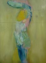 Girl with Yellow Leg