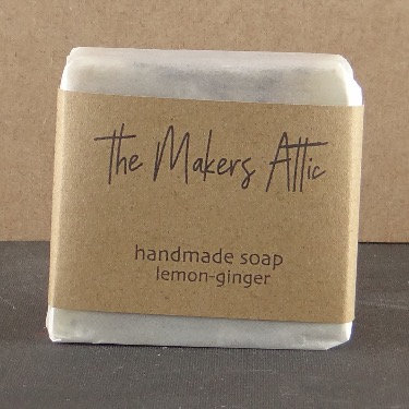 hand made soap lemon-ginger