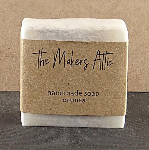 hand made soap oatmeal