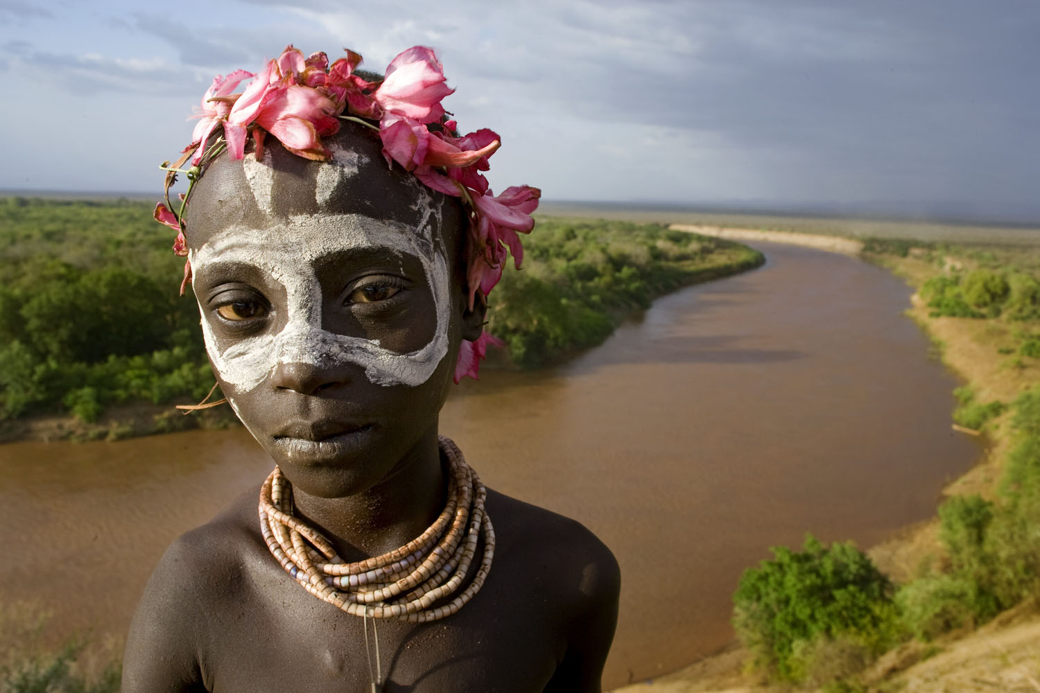 Karo boy, Omo River