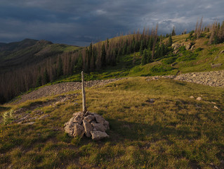 Walking the Continental Divide Trail, South San Juan Wilderness