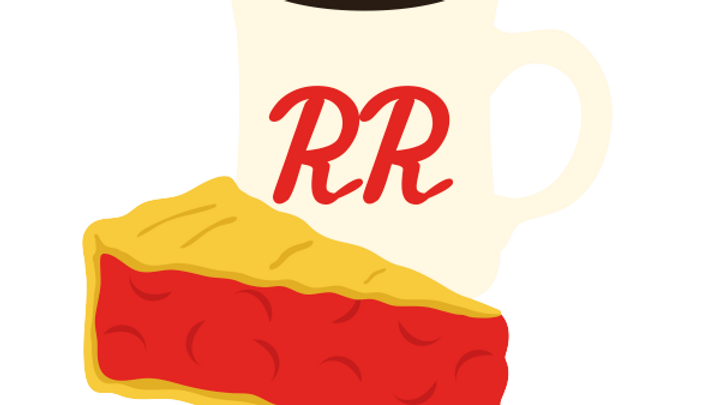 Pie & Coffee Sticker