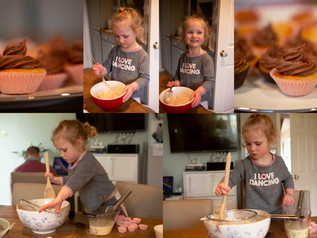 Can't grown ups bake on their own?