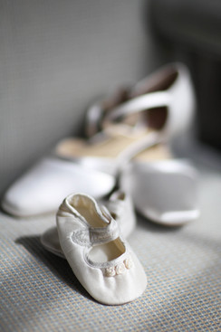 Mummy And Baby Wedding Shoes