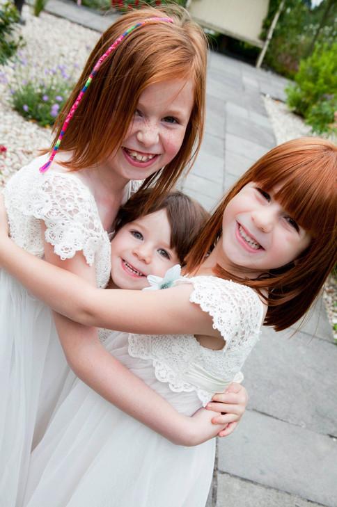 Cutest Little Bridesmaids