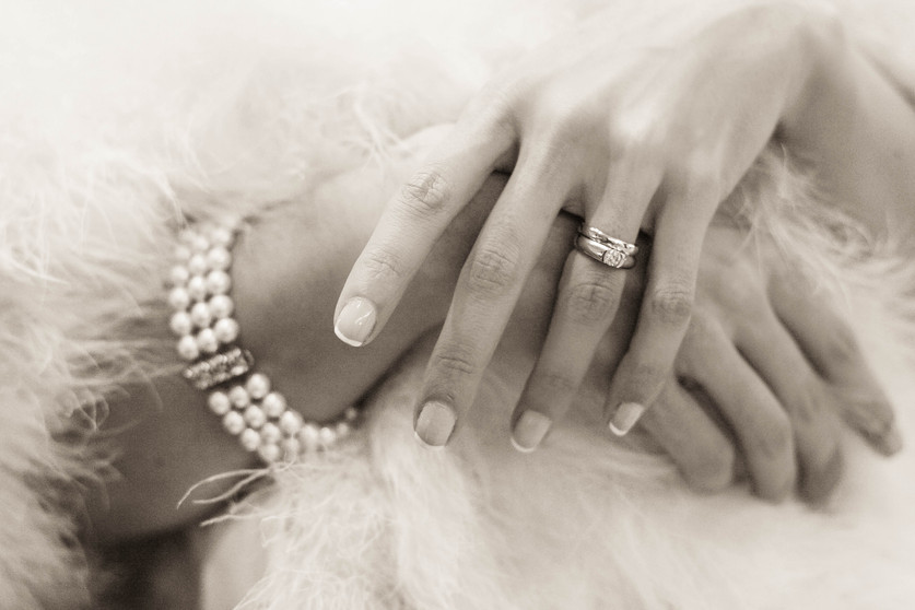Fur and Fancy Jewels