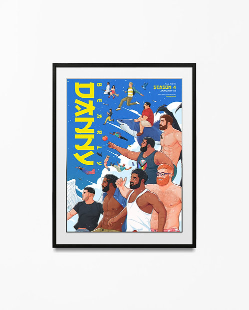 Season 4 Poster - Multiple Sizes