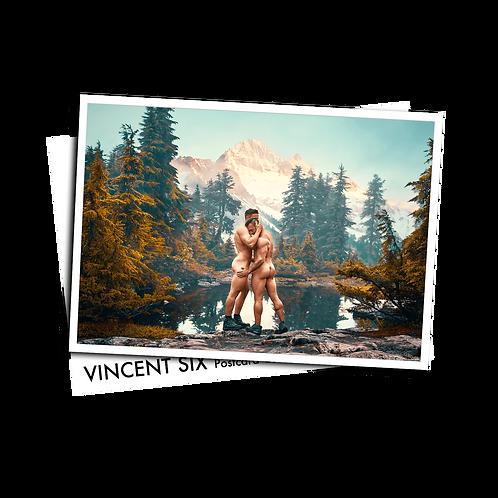 Mountain Lake - Postcard