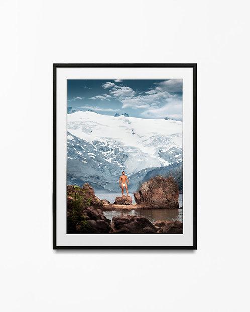 Glacier - Art Print