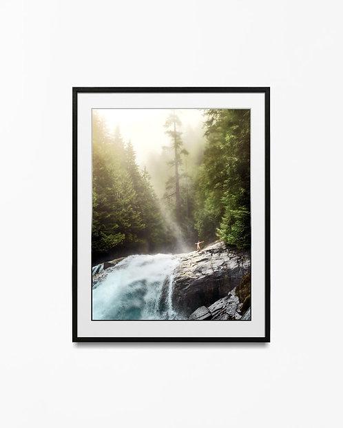 Waterfall - Art Print