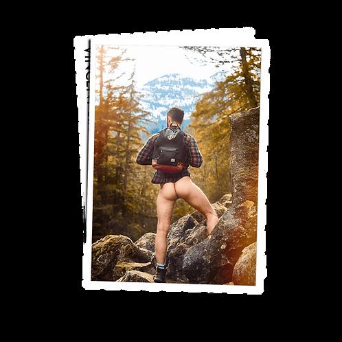 Backpacker - Postcard