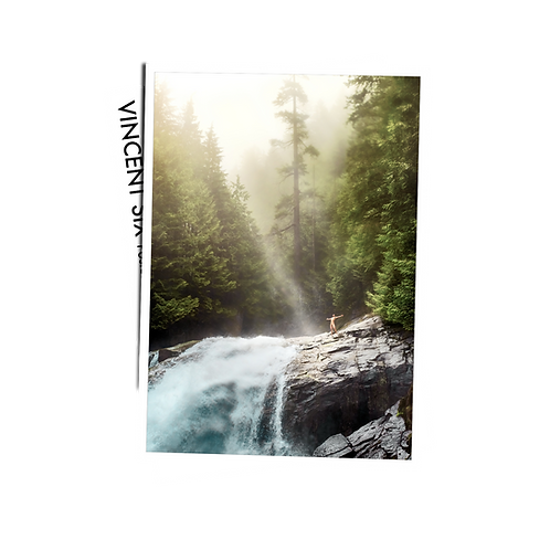 Waterfall - Postcard