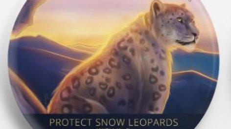 Protect Snow Leopards Button