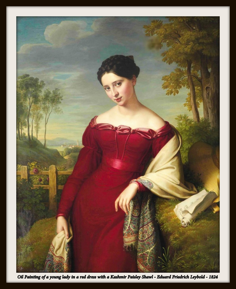 Portrait of the Lady in a Red Dress