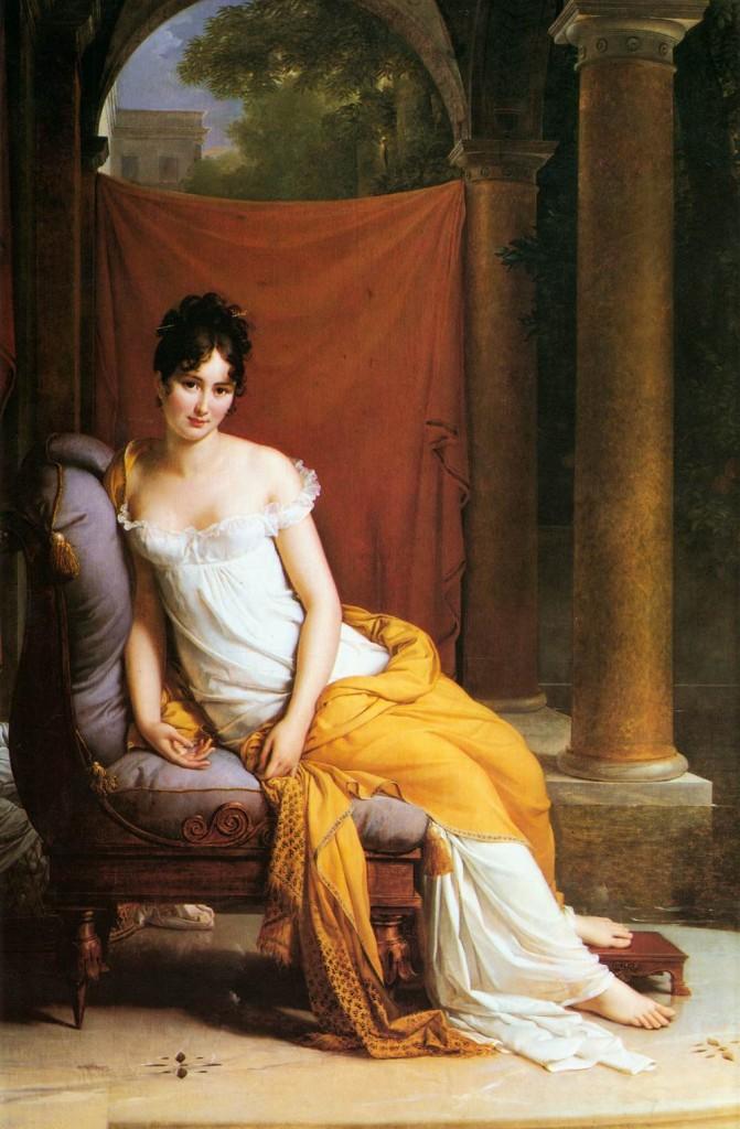Madame Recamier,1802