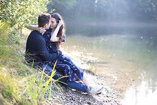 Amantes de un estanque