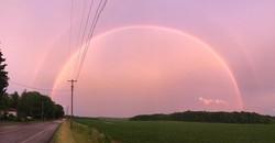 Rainbow in Ithaca