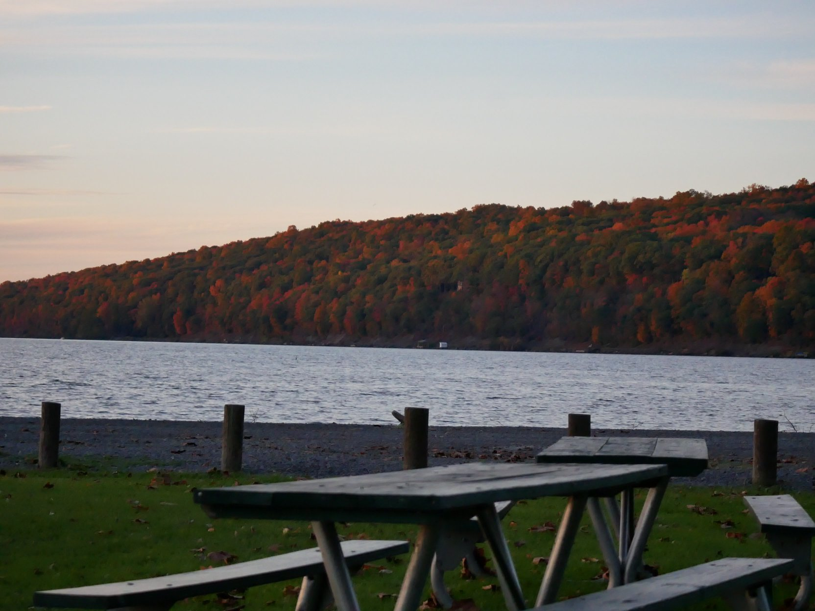 Cayuga Lake in Autumn