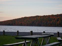 Cayuga Lake in Autumn
