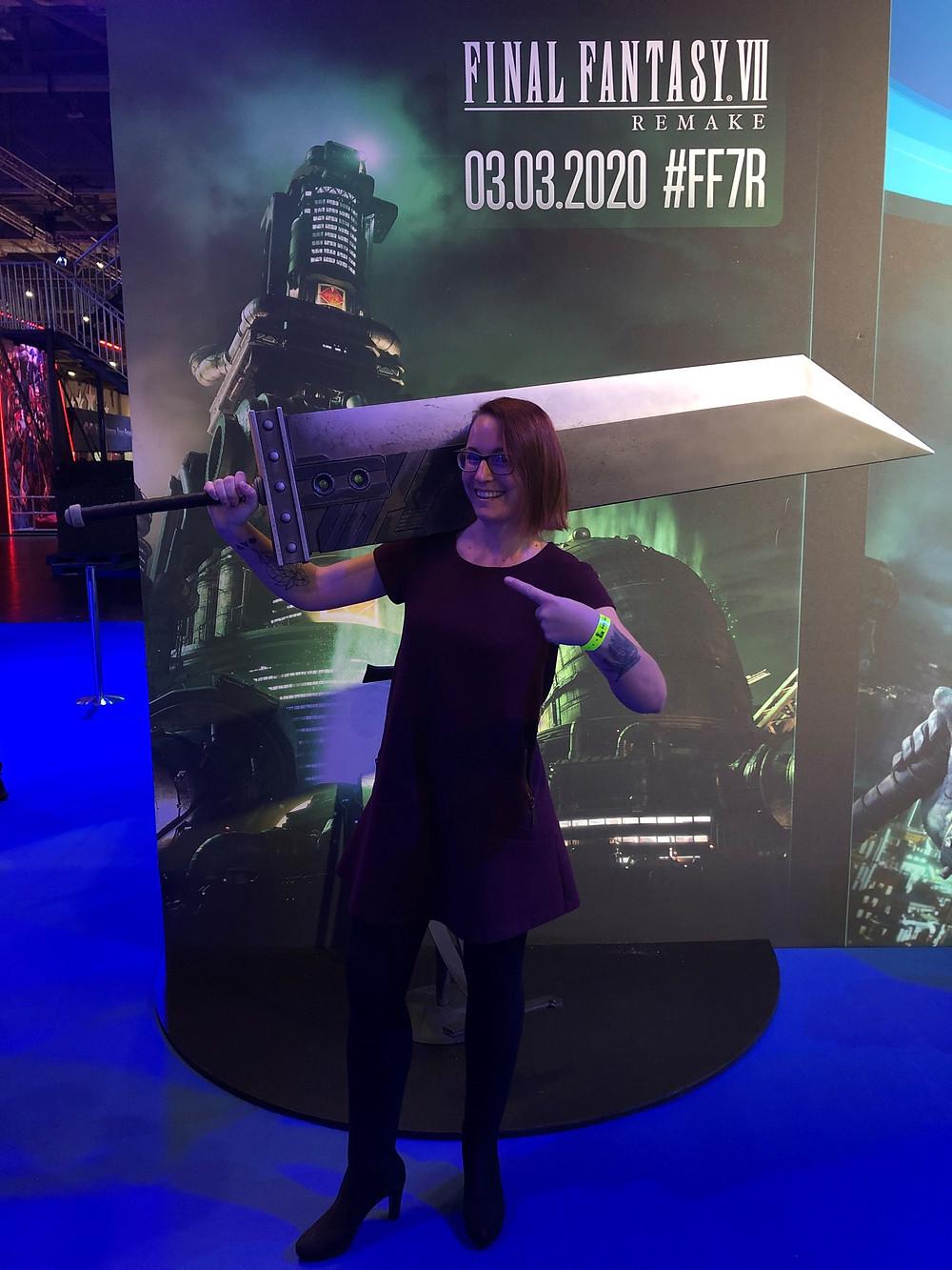 Julia Le Gallo at EGX 2019