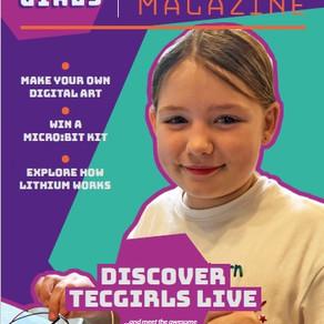 Introducing TECgirls Sandbox Magazine