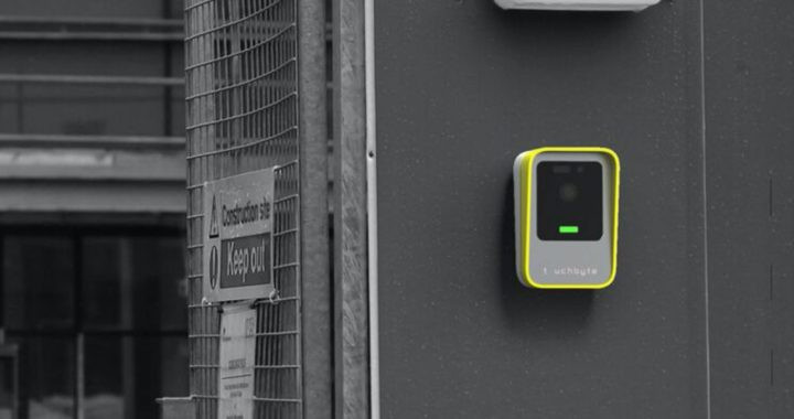 TouchByte's contactless entry system for construction sites