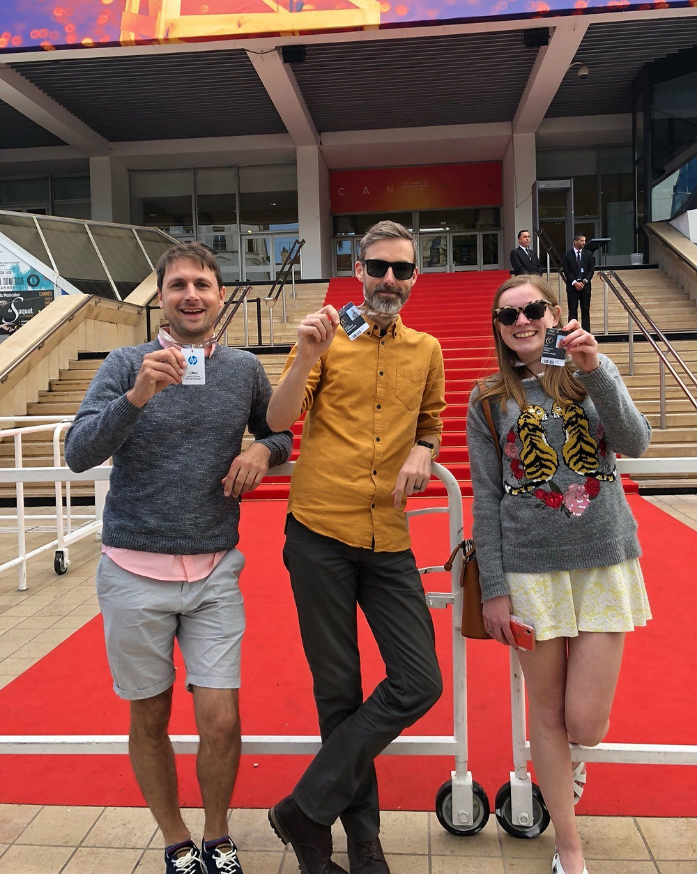 Natasha Price and the Engine House team at Cannes Film Festival