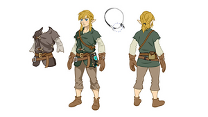 Concept art from The Legend of Zelda: Breath of the Wild