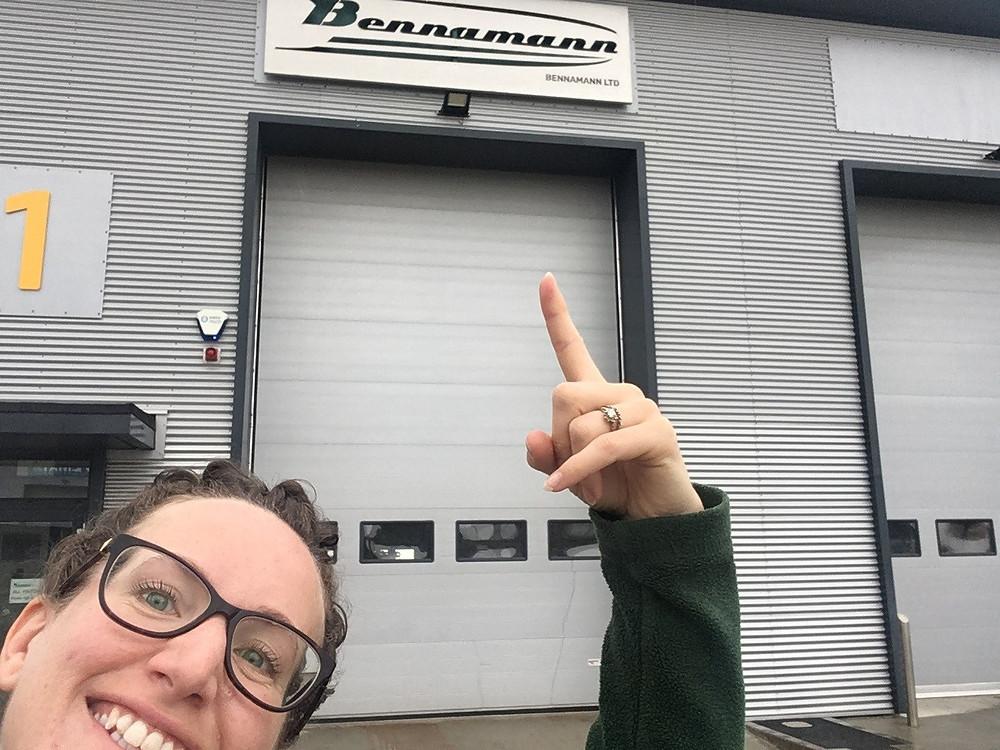 Portrait of Kate Dibble, Business Development Engineer at Bennamann Ltd, Newquay, Cornwall