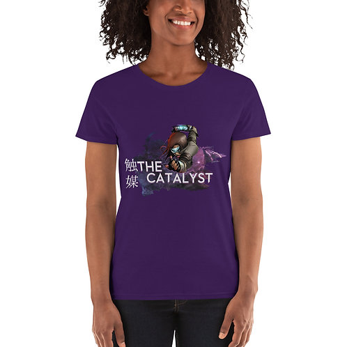 DC Catalyst Title Women's short sleeve t-shirt