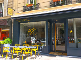 KL Patisserie, a modern tea room and pastry boutique in the 17th arr.