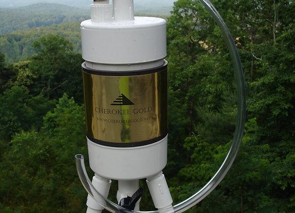 Magnetic Vortex Water Trap