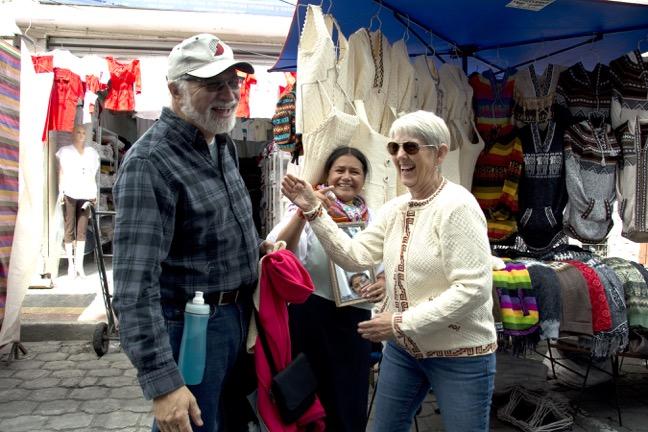 Market at Otavalo