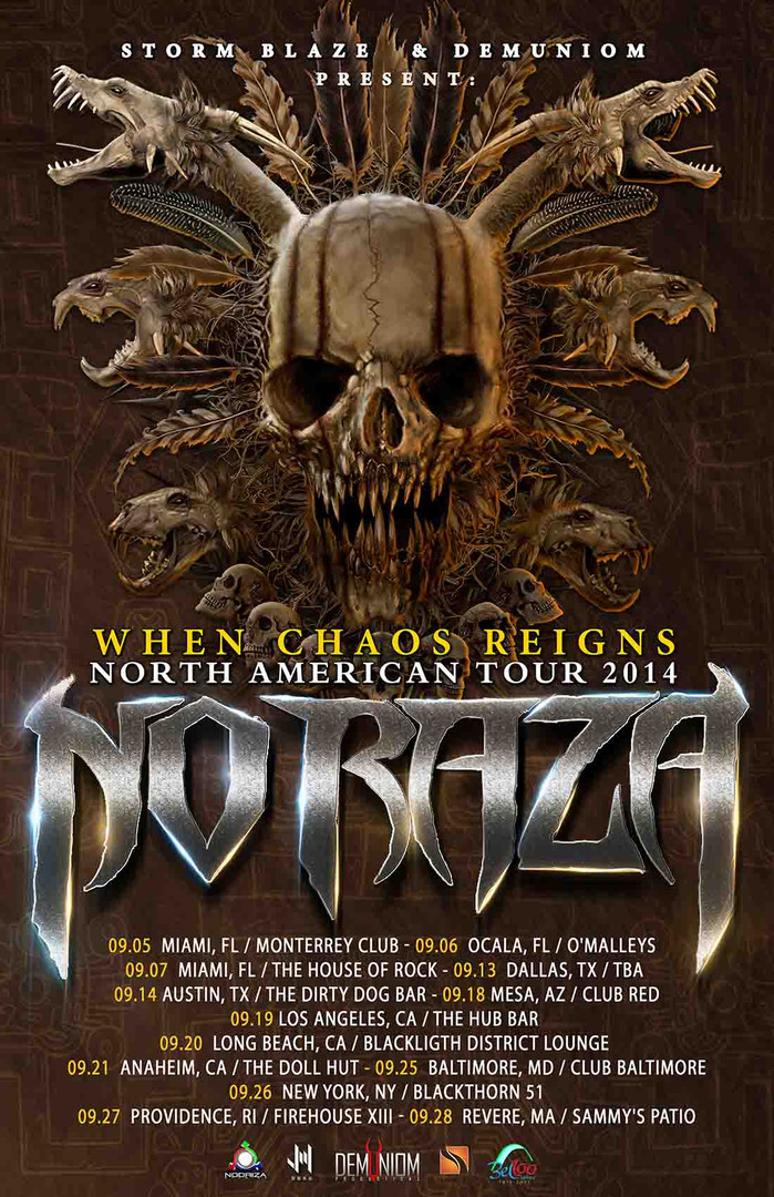 When Chaos Reigns North American Tour 20