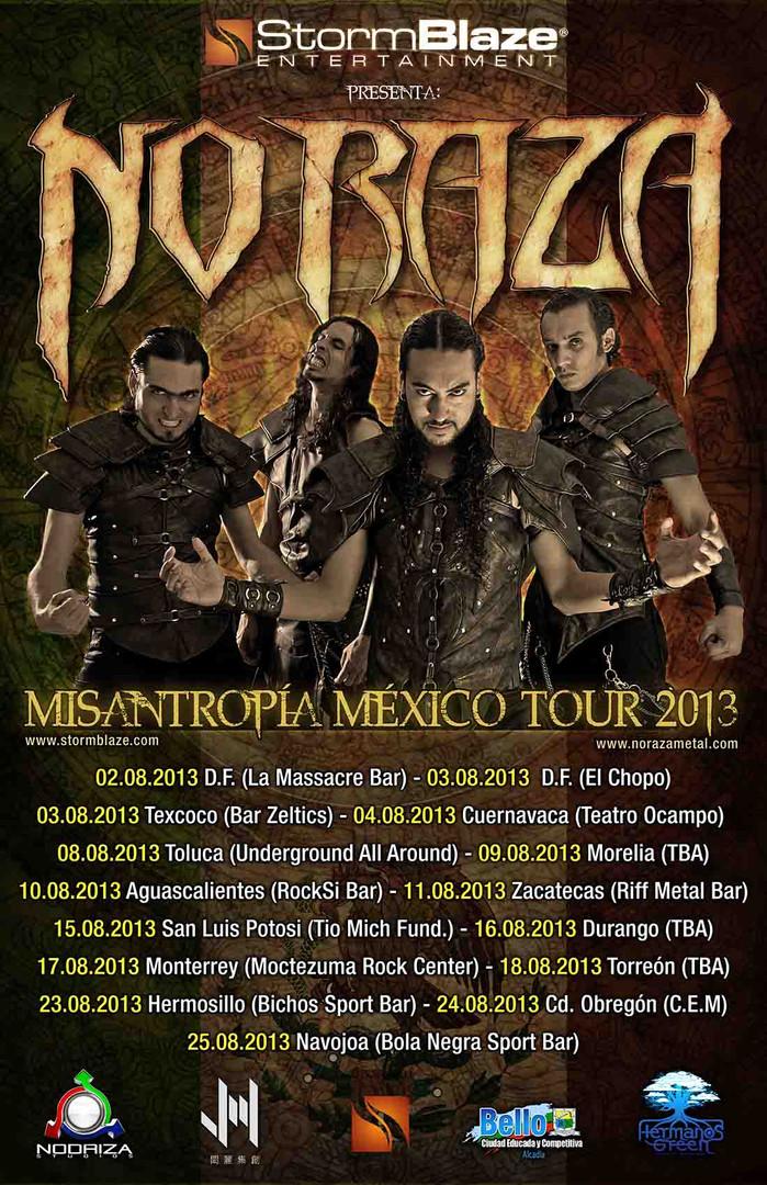 Misantropía México Tour 2013