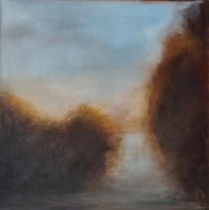 Romance series, pasage. 48x48, oil on canvas