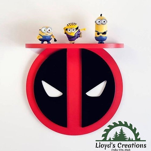 Deadpool Decoration Wall Shelf