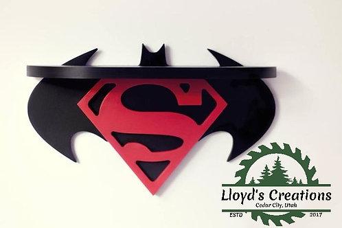 Batman Vs Superman Decoration Wall Shelf