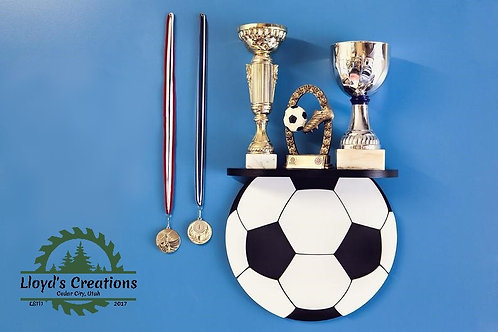 Soccer Ball Decoration Wall Shelf