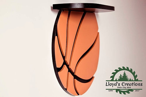 Basketball Decoration Wall Shelf