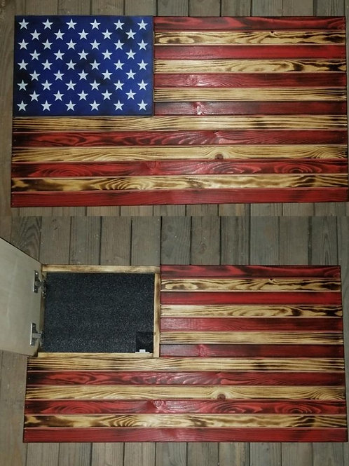 Rustic Concealment Old Glory Flags