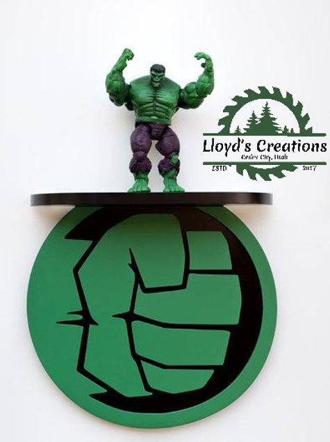 Hulk Decoration Wall Shelf