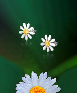 10mm Daisy Studs