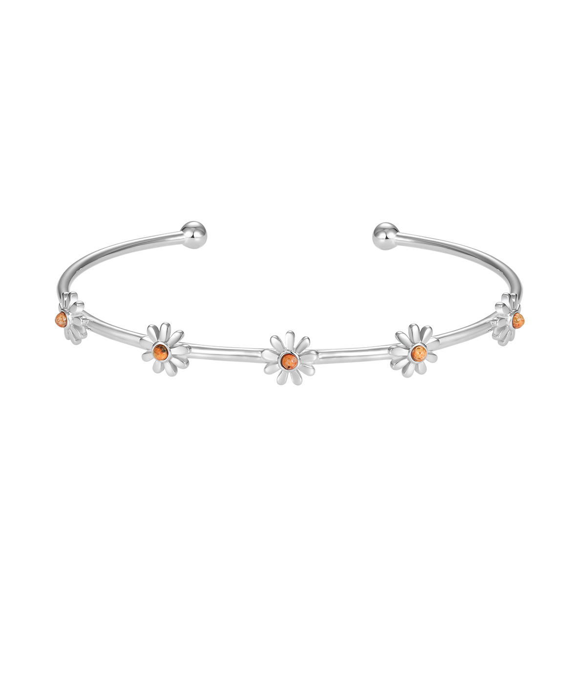 Jersey Granite Daisy Bangle