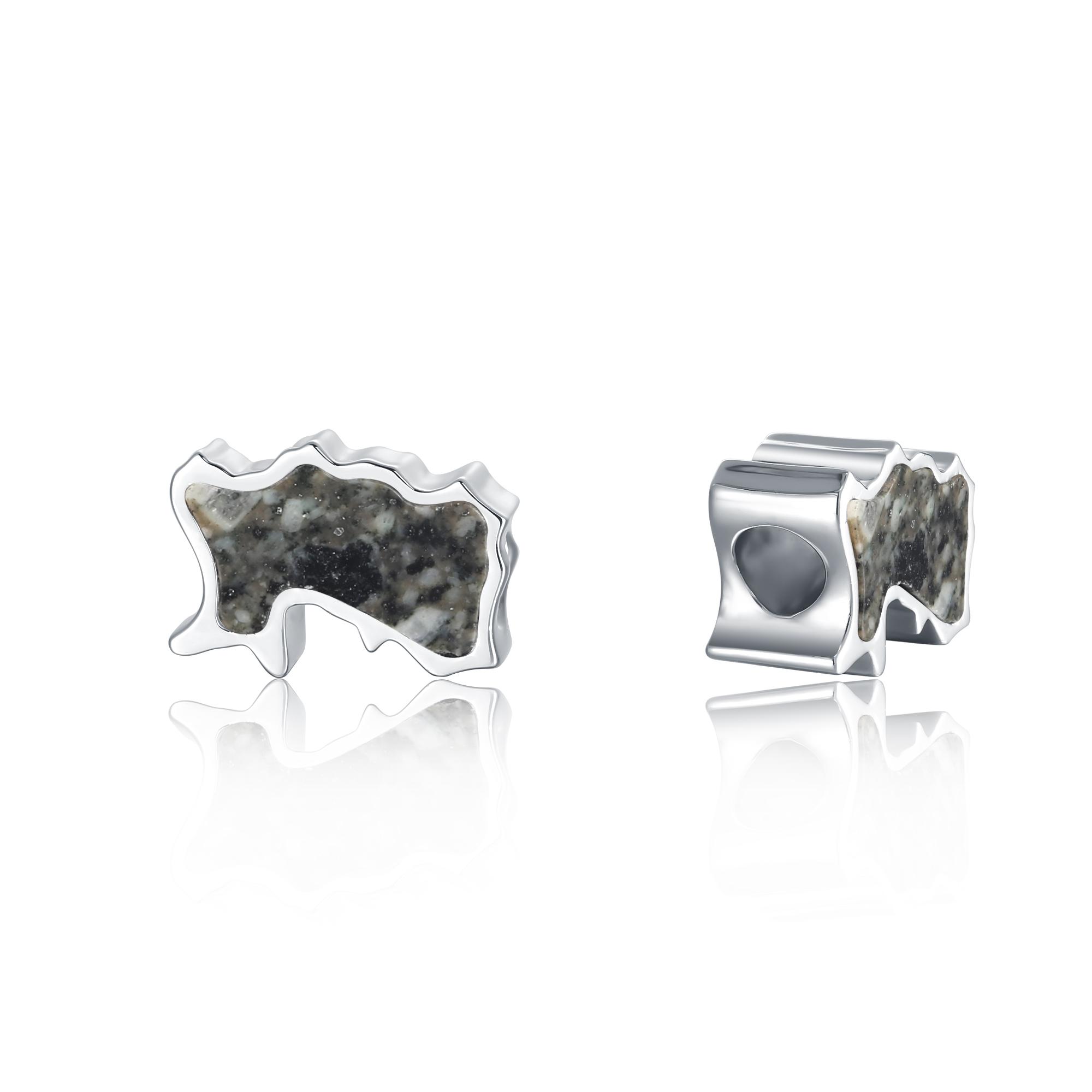 Jersey Granite Bead Charm