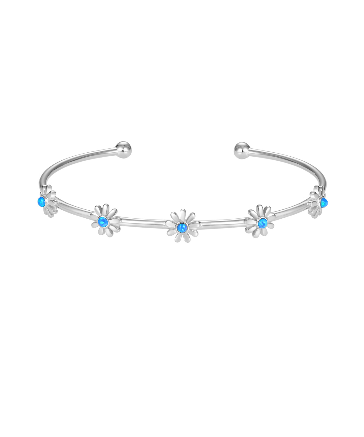 Opal Daisy Bangle