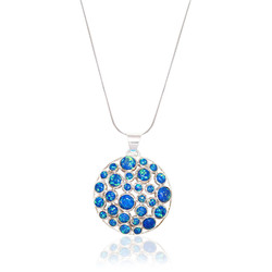 Dome Opal Necklace