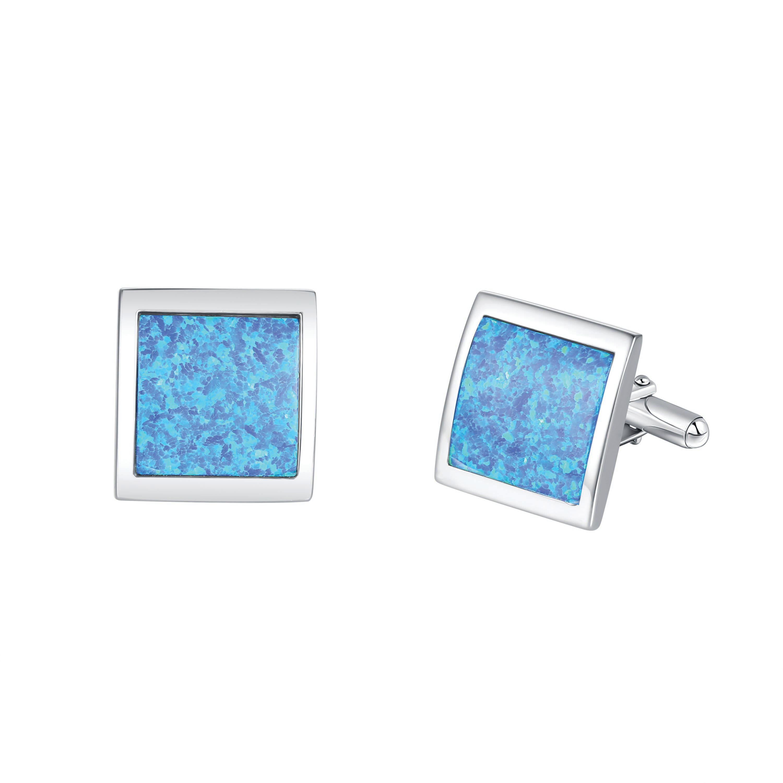 Square Opal Cufflinks