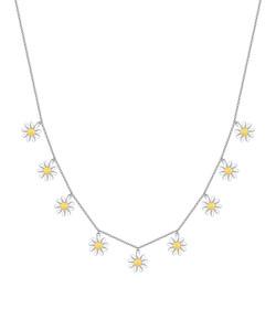 Daisy Chain Charm Necklace
