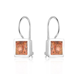 Square Drop Earring